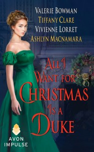 ALL I WANT FOR CHRISTMAS IS A DUKE cover