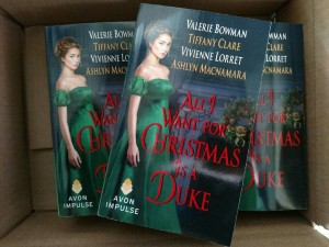 ALL I WANT FOR CHRISTMAS IS A DUKE paperbacks2
